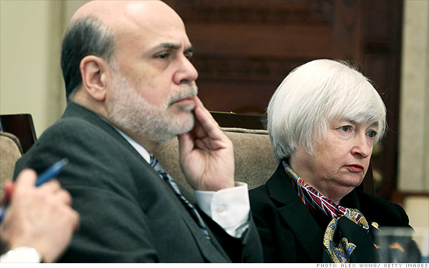 bernanke yellen fed