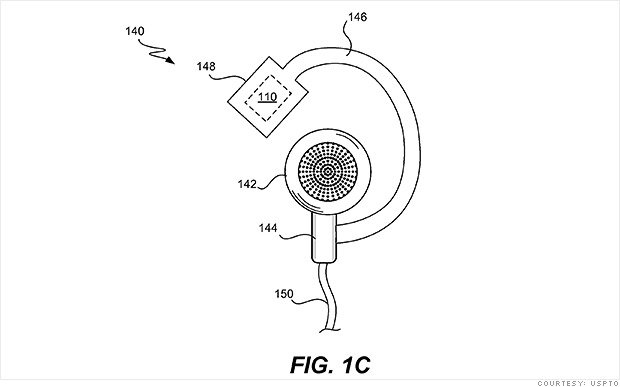 apple fitness headphone patent