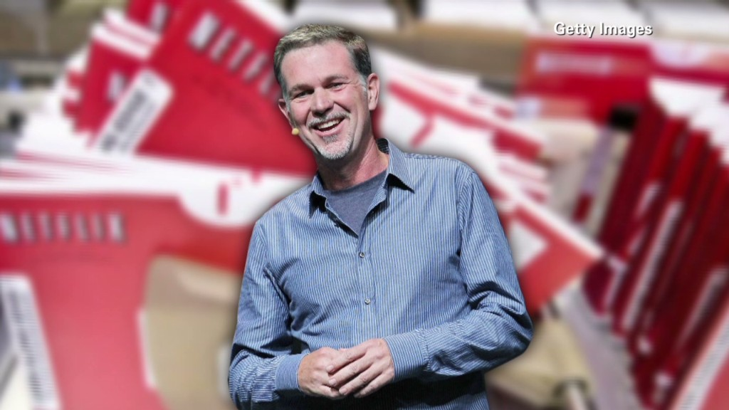 Netflix's Reed Hastings: The man to watch