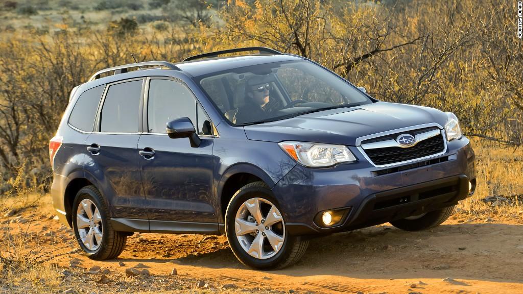 small suv subaru forester tesla model  consumer reports top pick car cnnmoney