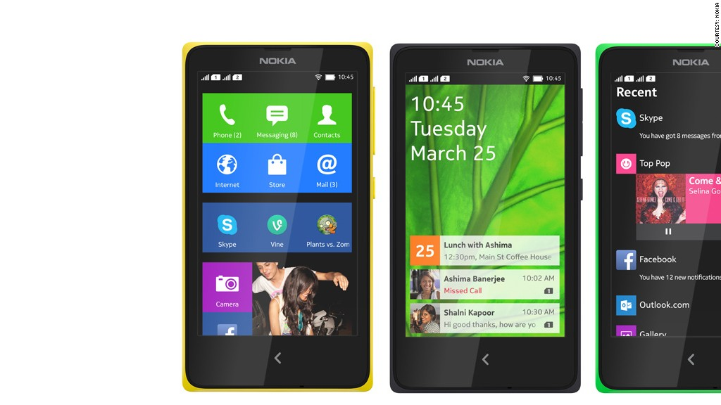 Nokia New Phone 2014 Android The New Nokia x Phones Are