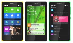 Nokia unveils first Android phones