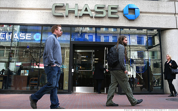 jpmorgan chase shrinking headcount