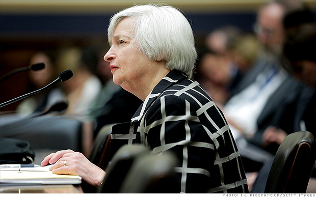 Yellen blames it on the weather