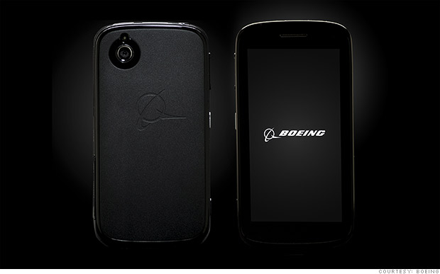 Boeing to sell phone that can self-destruct