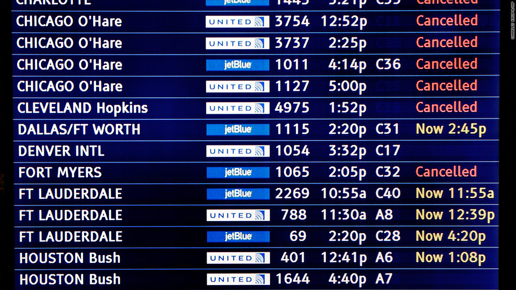 united airlines cancellations