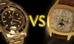 Are you a Rolex or a Patek?