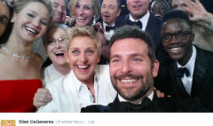 Ellen DeGeneres' Oscar tweet count: Android 5, Apple 4