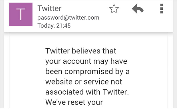 #Oops! Twitter accidentally sends thousands of password reset emails