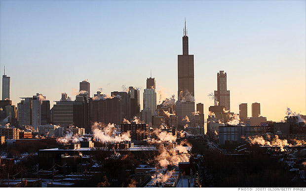 chicago moody downgrade