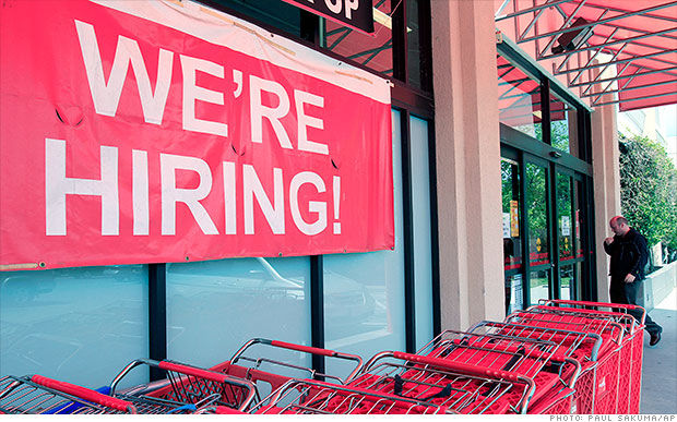 Hiring surprisingly stronger in February