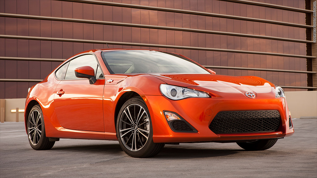 2017 Scion Fr S Best Cars Under 25 000 Cnnmoney