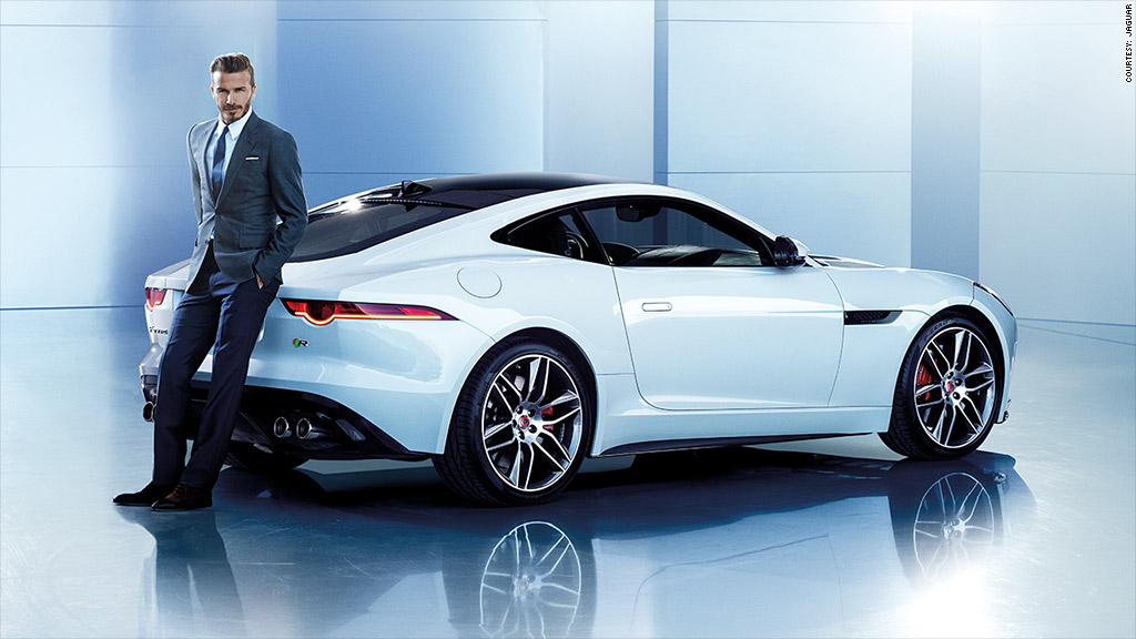jaguar david beckham