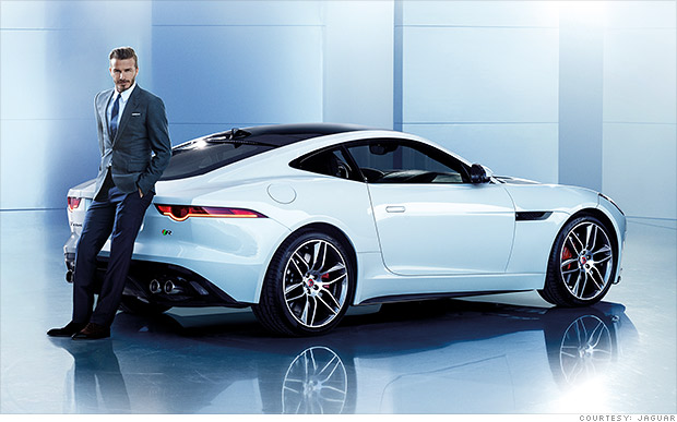 Beckham to promote Jaguar in China