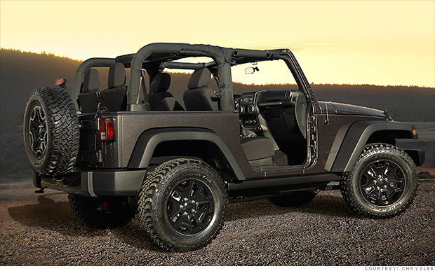 jeep wrangler best cars under 25 000 cnnmoney. Black Bedroom Furniture Sets. Home Design Ideas
