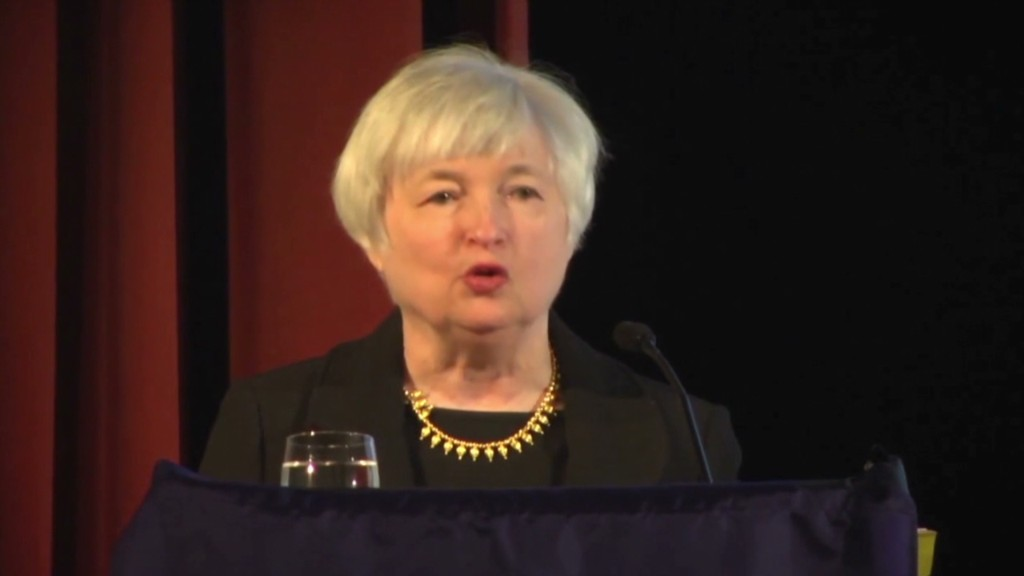 Yellen is Bernanke 2.0