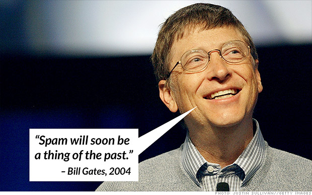 bill gates spam