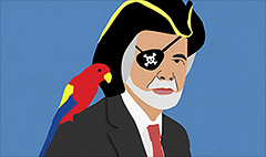 Carl Icahn is a pirate