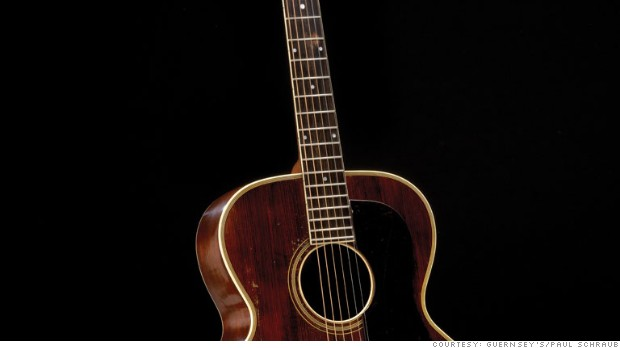 Inside Guernsey's vintage guitar auction