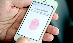 iOS 7 update fixes fingerprint sensor