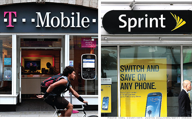 Sprint wants T-Mobile, but don't count on it