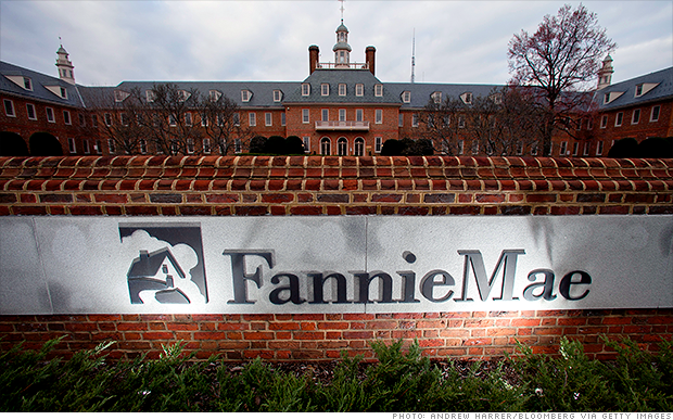 Fannie Mae, Freddie Mac stocks fall sharply