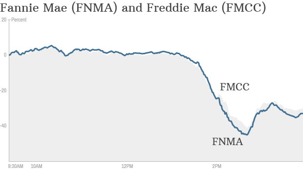 fannie mae freddie mac stock