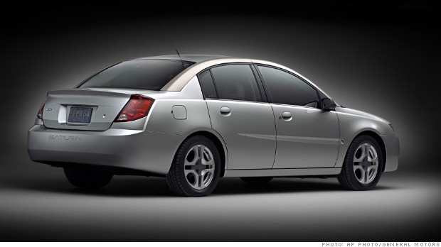 general motors saturn ion 2003
