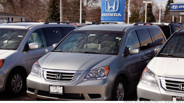 Honda Odyssey recall ties 900,000 minivans to fire risk