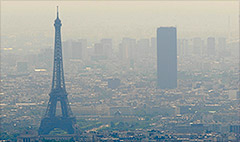 Paris pollution leads to car ban