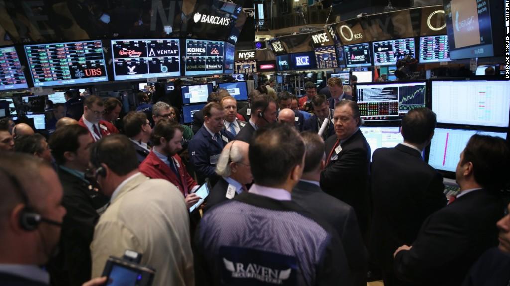 stock trading floor