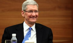 When Apple's Tim Cook didn't like stock splits