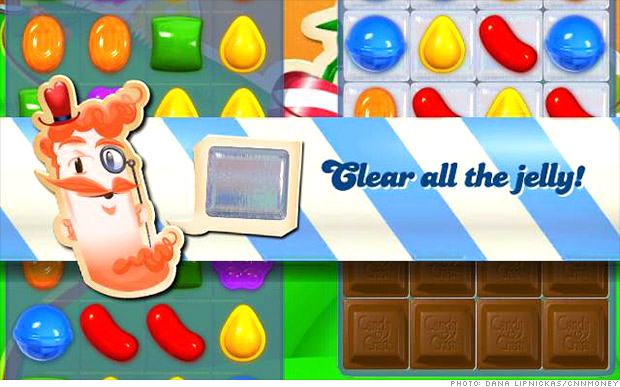 King Candy Crush Saga E B