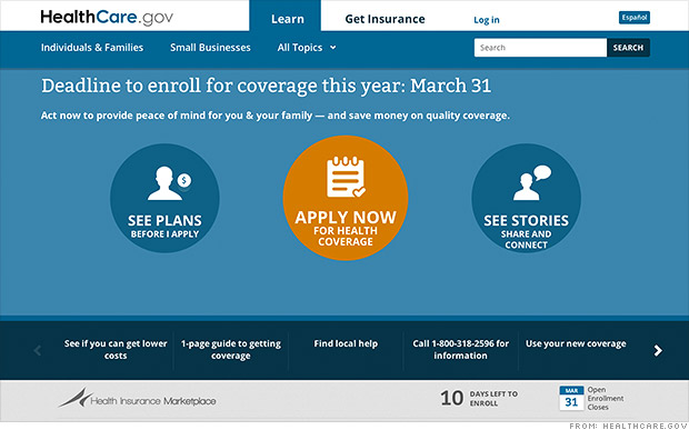 Official: Obamacare on track to meet original goal
