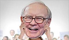 Buy a Warren Buffett Fathead for $29.99