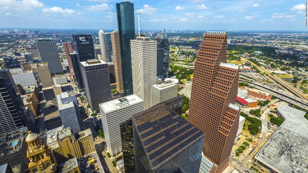 fastest growing metro areas houston