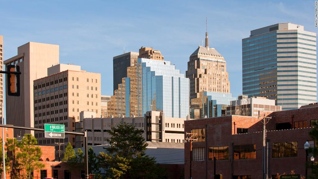 Oklahoma City 10 Fastest Growing Cities Cnnmoney