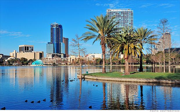 fastest growing metro areas orlando