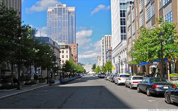 fastest growing metro areas raleigh