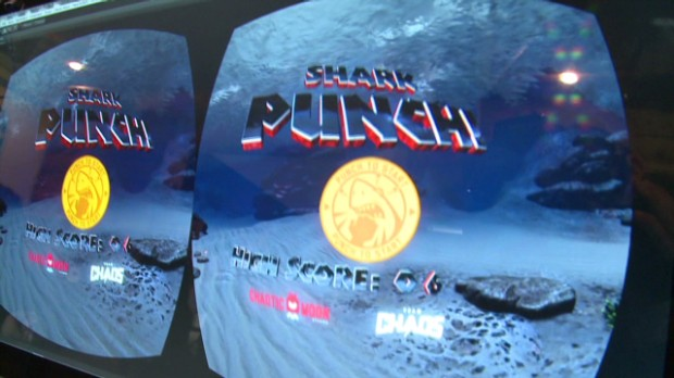 Punch a shark with the Oculus Rift