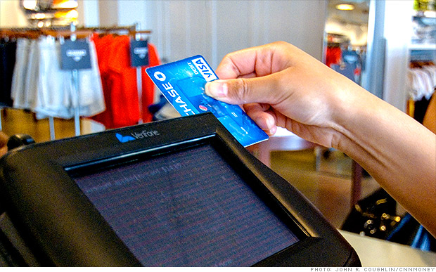 visa credit card swipe