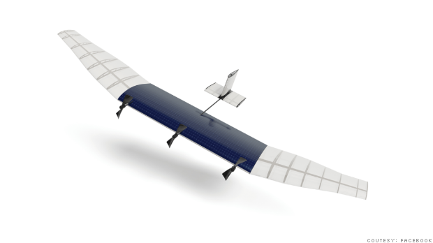 Facebook rapidly growing drone business