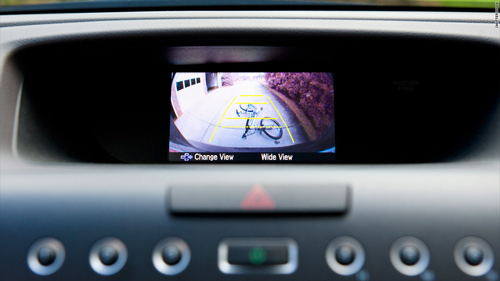 rear facing car camera