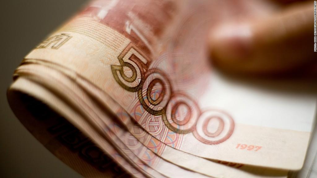 Russia's ruble tumbles