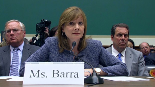Lawmakers rip GM CEO in hearing