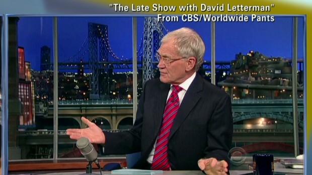 David Letterman: I'm retiring in 2015