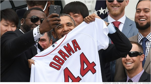 Political Circus: Big Papi, big selfies, big deals