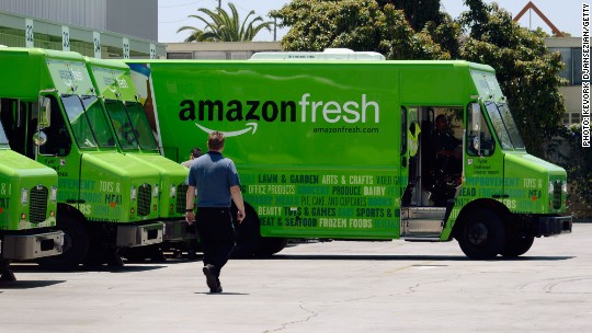 Here's what happened when I tried Amazon Fresh