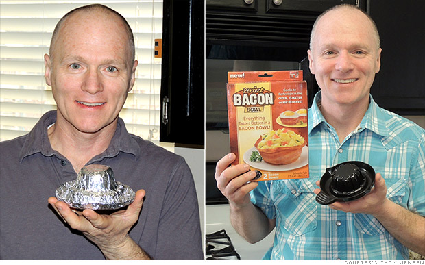 bacon bowl inventor