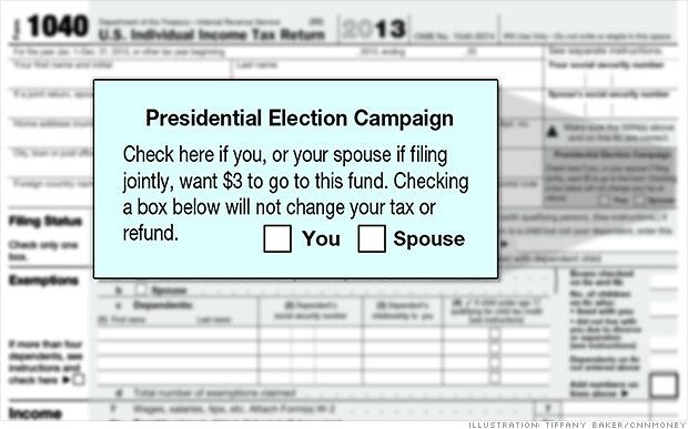 campaign donation callout